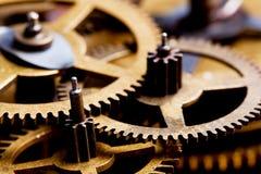 Grungekugghjulet, kugge rullar bakgrund Industriell tech Royaltyfri Foto