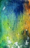 grungemålarfärgtextur Fotografering för Bildbyråer