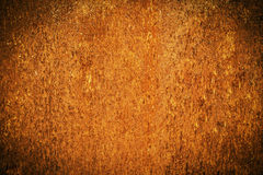 Grungemetallrost och orange textur för halloween bakgrund Arkivbilder