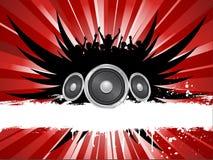 grungemusik Royaltyfria Bilder