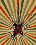 grungemusikal Royaltyfri Fotografi
