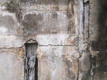 Grungemuur van het oude huis Geweven Achtergrond Royalty-vrije Stock Fotografie