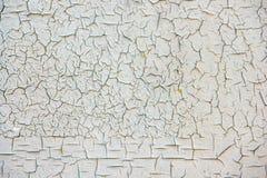 Grungeoppervlakte met gebarsten verf royalty-vrije stock afbeelding