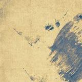 Grungepapperstextur, tappningbakgrund Arkivfoto