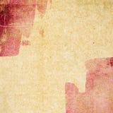 Grungepapperstextur, tappningbakgrund Arkivbilder