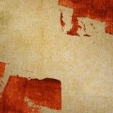 Grungepapperstextur, tappningbakgrund Arkivbild