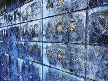 Grungepatroon op de baksteenoppervlakte Royalty-vrije Stock Afbeelding