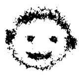 Grungepojken plaskar illustrationen Royaltyfria Bilder