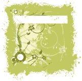 grungeprydnad stock illustrationer