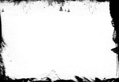 Grungeramtextur - designbeståndsdelar arkivbilder