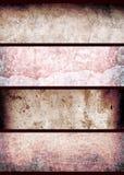 grungeredvägg arkivfoton