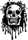 GrungeSkull Stock Images