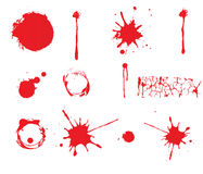Grungesprutmålningsfärg Royaltyfri Foto