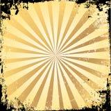 grungestarburst Royaltyfria Bilder
