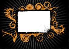 grungeswirls Arkivbild