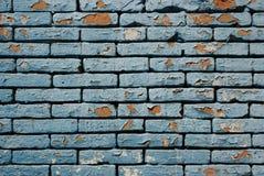 Grungetegelstenvägg Arkivbilder
