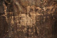 Grungetexturbakgrund, gammal skrapad smutsig torkduk Arkivbilder