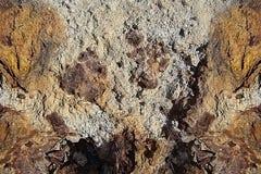 Grungetexturen med rost är liknande till den gamla stenen eller betongen Arkivbilder
