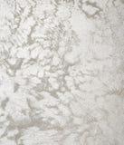Grungetexturer och bakgrund silver Arkivfoton