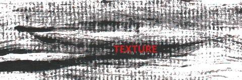 Grungetextursvart och text Arkivbild