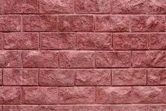 Grungetextuur van rode bakstenen muur Stock Afbeelding