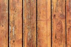 Grungeträplankabakgrund Arkivfoto