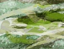 grungevattenfärg royaltyfri illustrationer