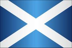 Grungevlag van Schotland Stock Afbeeldingen