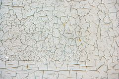 Grungeyttersida med sprucken målarfärg royaltyfri bild