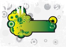 Grungr banner Royalty Free Stock Photography
