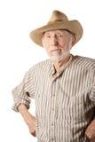 Grungy älterer Cowboy Lizenzfreie Stockfotografie