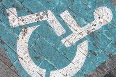 Grungy выведенный из строя тон знака Стоковые Фотографии RF