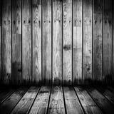 Grungy деревянная стена Стоковые Изображения RF
