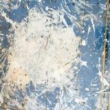 Grungy запятнанная промышленная огорченная деревянная текстура настила Стоковая Фотография RF