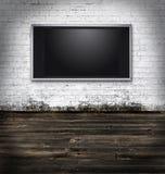 grungy комната tv Стоковые Изображения