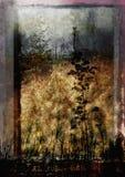grungy ландшафт Стоковые Фотографии RF