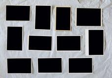Grungy недостатки фильма, пустые картинные рамки стоковая фотография rf