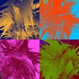 Grungy, нервная текстура с случайными элементами - абстрактное illustratio Стоковая Фотография RF