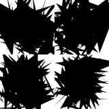 Grungy, нервная текстура с случайными элементами - абстрактное illustratio Стоковые Фотографии RF