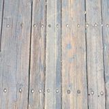 Grungy огорченная деревянная текстура настила Стоковые Изображения