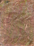 Grungy огорченная предпосылка бумаги Brown Стоковое Изображение