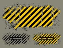 grungy опасность иллюстрация штока