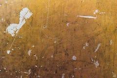 Grungy оранжевая текстура стены Стоковые Изображения RF