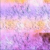 Grungy поверхность с залатанными цветами Предпосылка листа искусства для творческих взглядов абстрактная бумажная текстура иллюстрация вектора