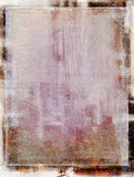 Grungy покрашенная рамка Стоковое фото RF