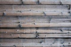 Постаретая предпосылка древесины панели Стоковые Изображения