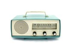 grungy радио ретро Стоковая Фотография