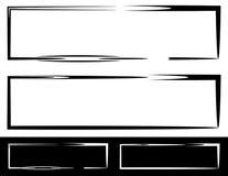 Grungy, скачками рамки, границы с покрашенным рассматривать белизна Стоковые Фотографии RF