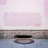grungy стена улицы Стоковое фото RF
