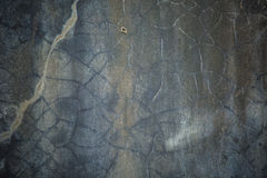 Grungy треснутая стена цемента Стоковое фото RF